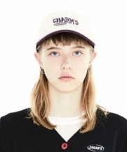 [CHARMS] TWO TONE LETTERING LOGO CAP
