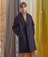 [A.GLOWW] BASIC DOUBLE COAT