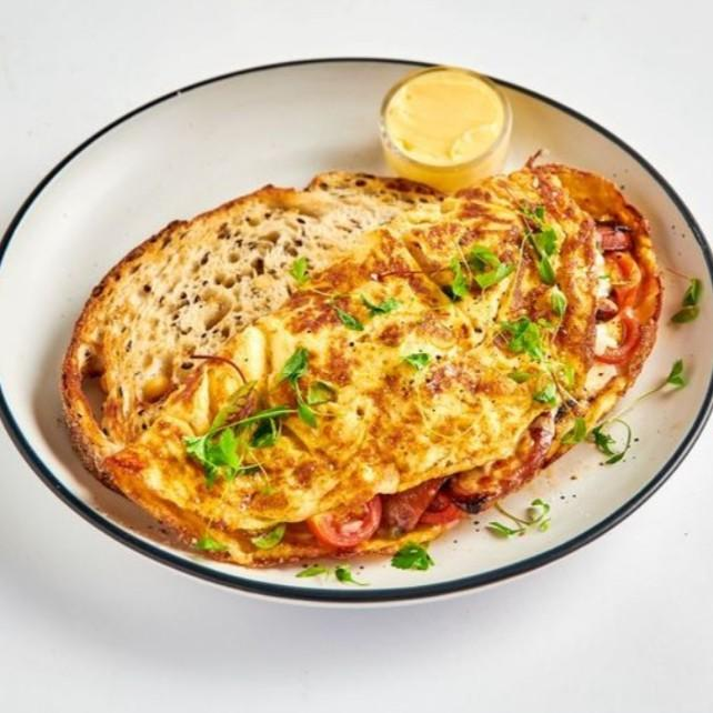 Chorizo Omelette (Available 7:00AM - 11:30AM)