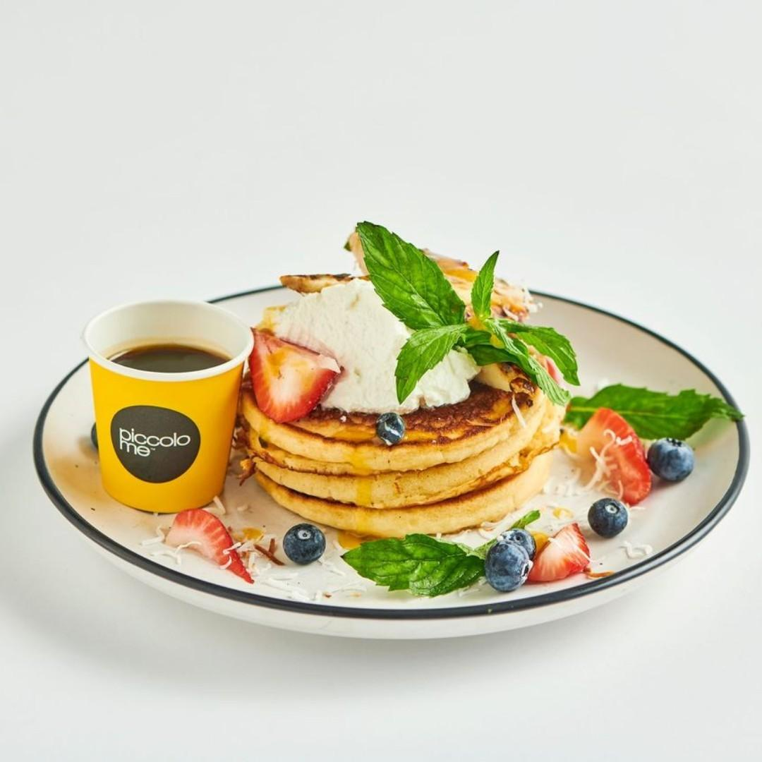 Piccoloaded Pancakes (Available 7:00AM - 11:30AM)
