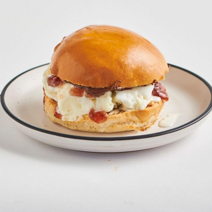 PBJ Icecream Burger
