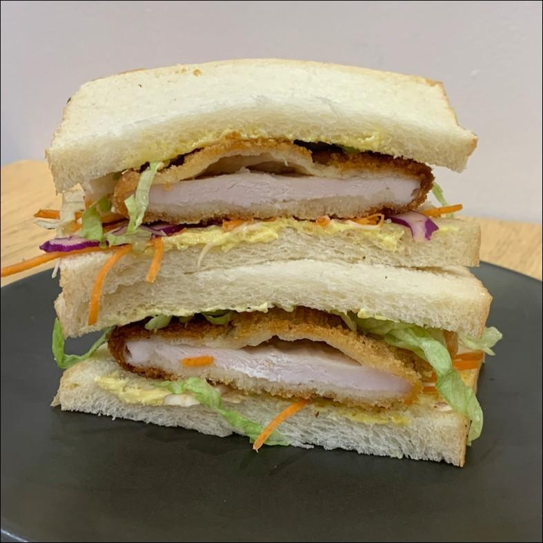 Katzu Chicken Schnitzel Sandwich