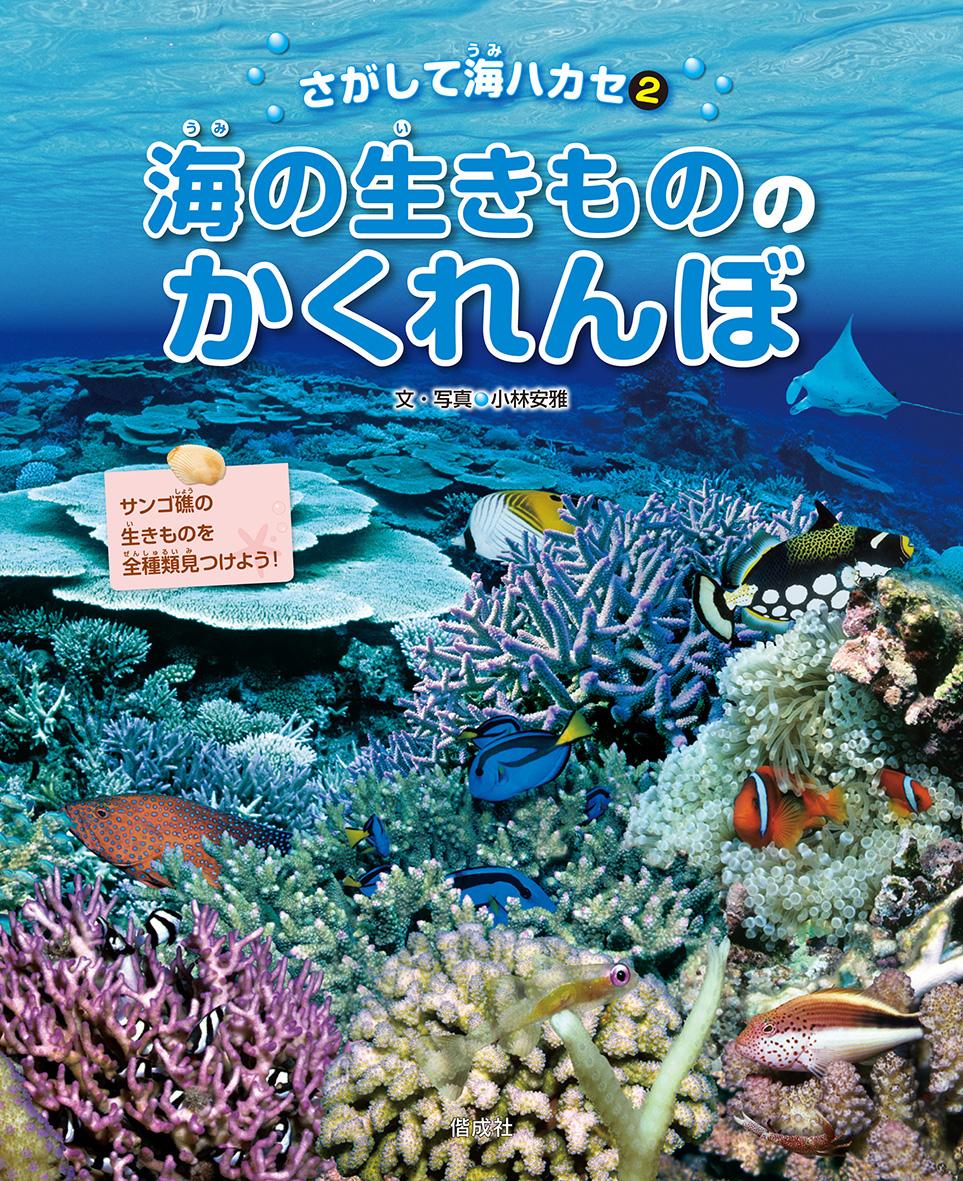 海の生きもののかくれんぼ