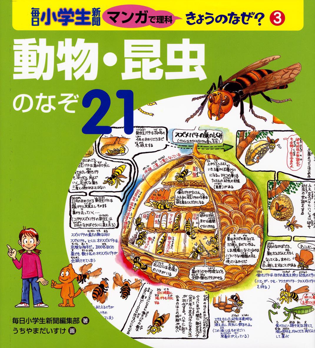 動物・昆虫のなぞ21