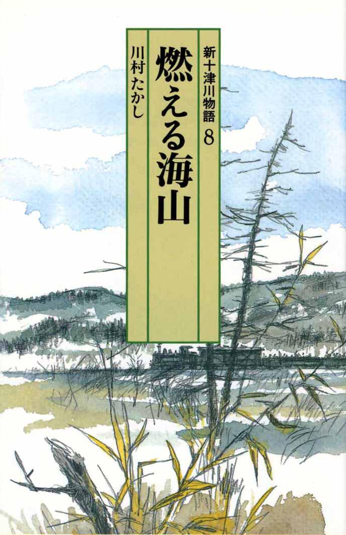 燃える海山(新十津川物語8)