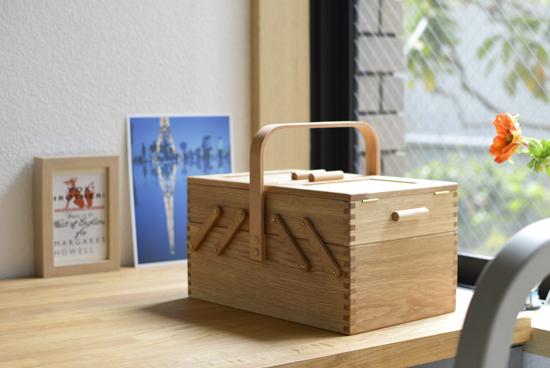【スタッフの愛用品】倉敷意匠|ならのソーイングボックス