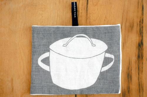 【まもなく取扱い終了】KORPI&GORDON/コルピ&ゴードン/鍋つかみ/SAUCEPAN(グレー)の商品写真