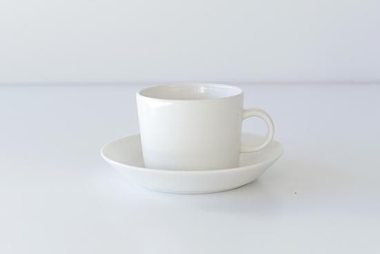 iittala/イッタラ/Teema/ティーマ/カップ&ソーサー/ホワイトの商品写真