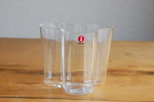 iittala/イッタラ/Alvar Aalto/アルヴァ・アアルト/ 花瓶 95mm クリア  の商品写真