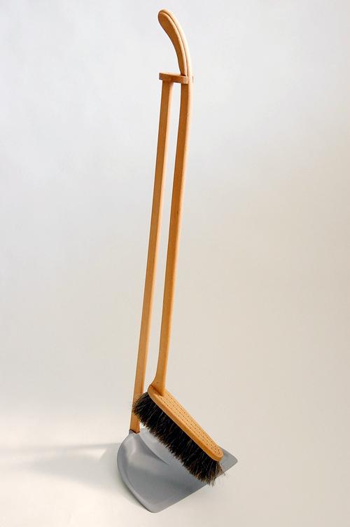Iris(SRF) Hantverk/イリス・ハントバーク社/ちりとりブラシセット(グレー)の商品写真