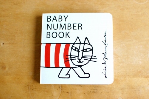 Lisa Larson/リサ・ラーソン/絵本/Baby number bookの商品写真