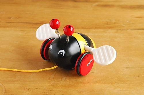 BRIO/ブリオ/おもちゃ/引き車/ハチの商品写真