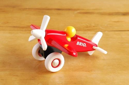 【取扱い終了】BRIO/ブリオ/おもちゃ/押し車/飛行機の商品写真