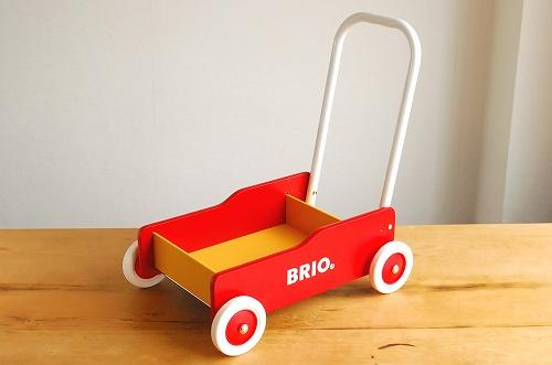 BRIO/ブリオ/おもちゃ/手押し車(赤)の商品写真