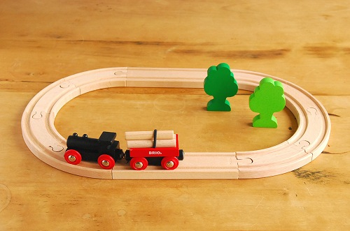 BRIO/ブリオ/おもちゃ/レールウェイシリーズ/小さな森の基本レールセットの商品写真