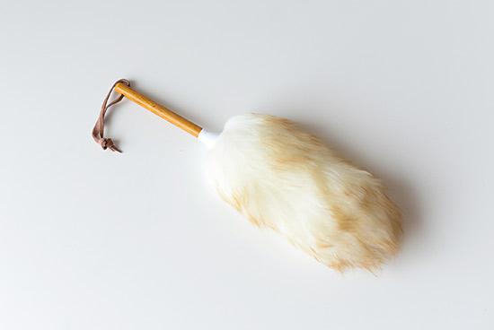ニュージーランド/ダスター/天然羊毛100%のホコリ取りの商品写真