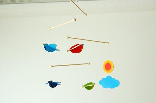 ドイツ/ヘラー社/モビール(小鳥)の商品写真