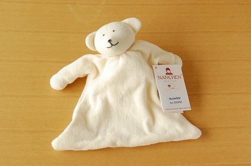 ドイツ/ナンヒェン社/ほおずり人形(白くま)の商品写真