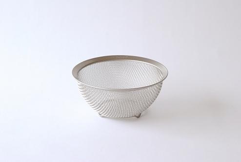 la base/ラバーゼ/ステンレス丸ざる(小)の商品写真