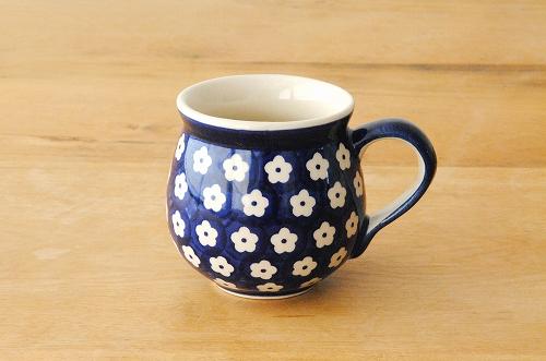 【廃盤】ポーリッシュポタリー/Manufaktura社/マグカップ 250ml/ブルーの商品写真