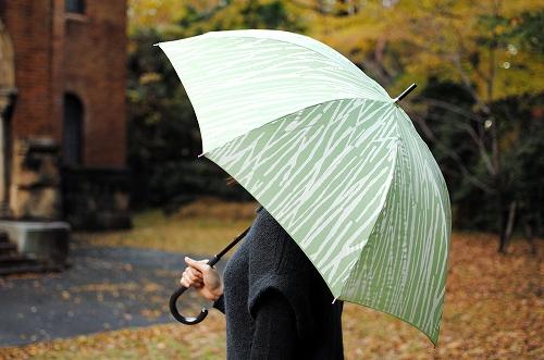 【次回5月入荷予定】kura/Bamboo/バンブー/傘(グリーン)の商品写真