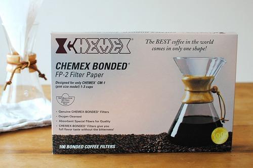 CHEMEX/ケメックス/コーヒーメーカー3人用/ペーパーフィルター(100枚入)の商品写真