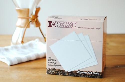CHEMEX/ケメックス/コーヒーメーカー6人用/ペーパーフィルター(100枚入)の商品写真