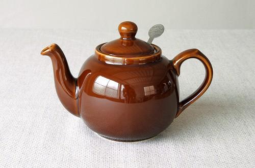 【取扱い終了】London Pottery/ロンドンポタリー/ティーポット 600ml(ブラウン)の商品写真