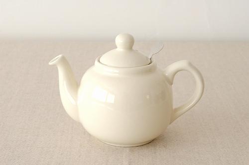 【取扱い終了】London Pottery/ロンドンポタリー/ティーポット 600ml(アイボリー)の商品写真