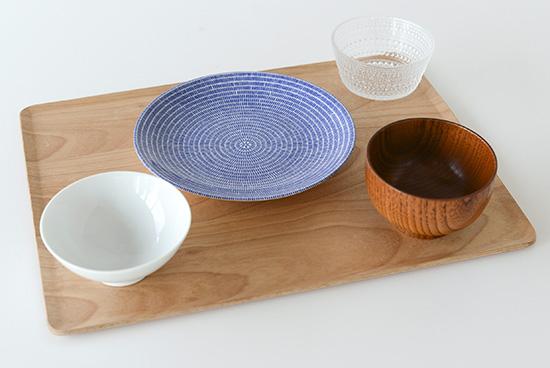 KINTO/プレイスマット/木のトレー(LL)の商品写真
