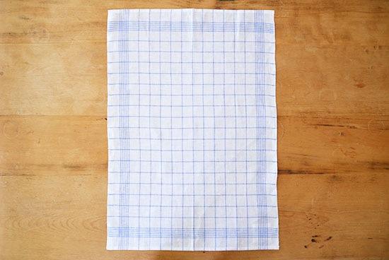Kracht/キッチンクロス/ベーシック/リネンチェック(ブルー)の商品写真