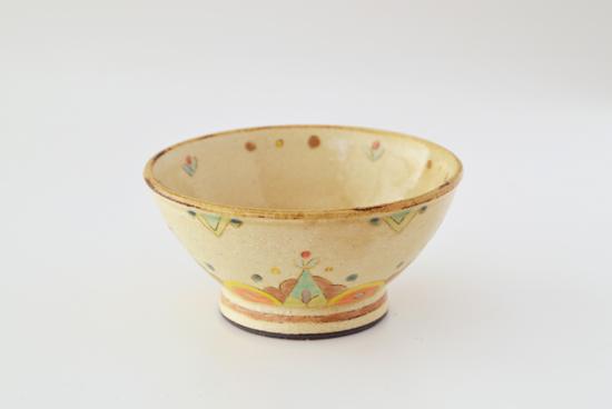 増山文/花テント黄空/飯碗(径:約12cm)の商品写真