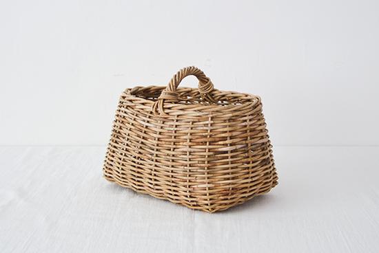 【次回11月初旬入荷予定】Encachette/アンキャシェット/ショートハンドルバスケットの商品写真
