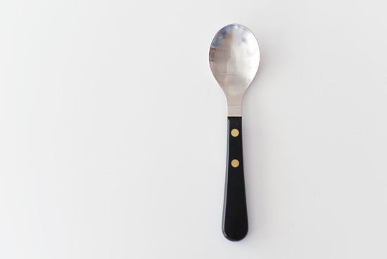 デビット・メラー/カトラリー/Provencal Black/デザートスプーンの商品写真
