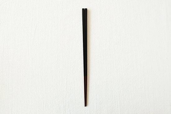 伝統の色箸/お箸/漆黒(しっこく)の商品写真