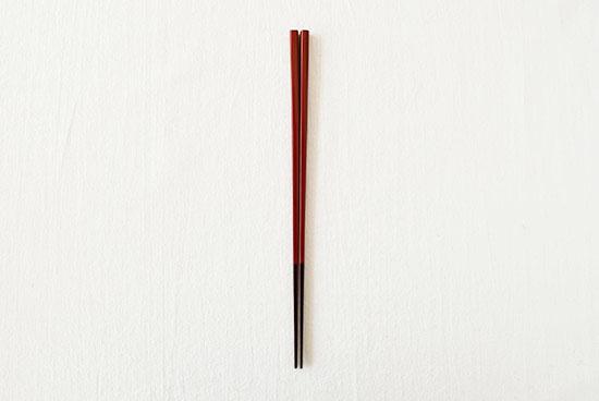 伝統の色箸/お箸/朱色(しゅいろ)の商品写真