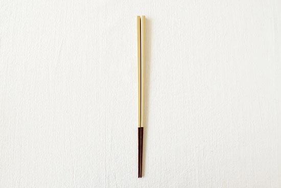 伝統の色箸/お箸/素色(しろいろ)の商品写真