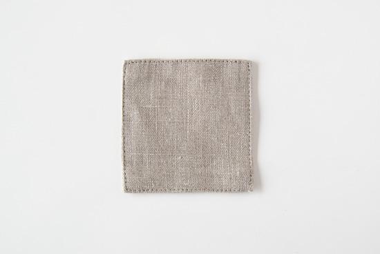 fog linen work/フォグリネンワーク/コースター/ナチュラルの商品写真