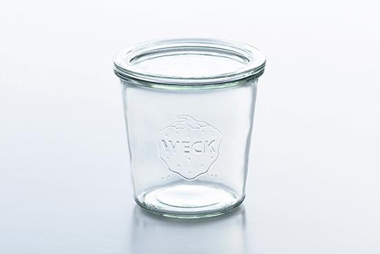 WECK/ウェック/キャニスター/モルドシェイプ(500ml)の商品写真