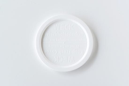 WECK/ウェック/プラスチックカバー(L)の商品写真