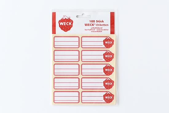 WECK/ウェック/ステッカーの商品写真