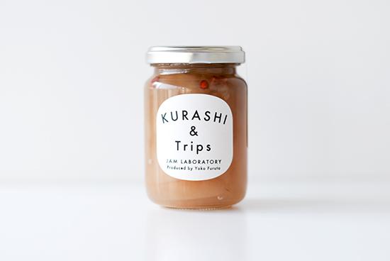 【入荷未定】葉とらず青りんごジャム ローズ&ピンクペパー風味の商品写真