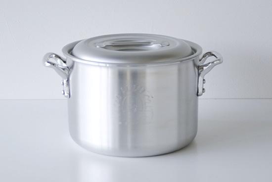【在庫限り取扱い終了】中尾アルミ製作所/両手鍋(キングシリーズ )/径21cm・5.1Lの商品写真