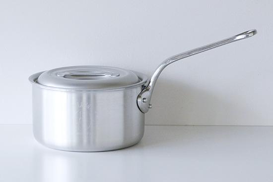 【在庫限り取扱い終了】中尾アルミ製作所/片手鍋 (キングシリーズ)/径21cm・4Lの商品写真