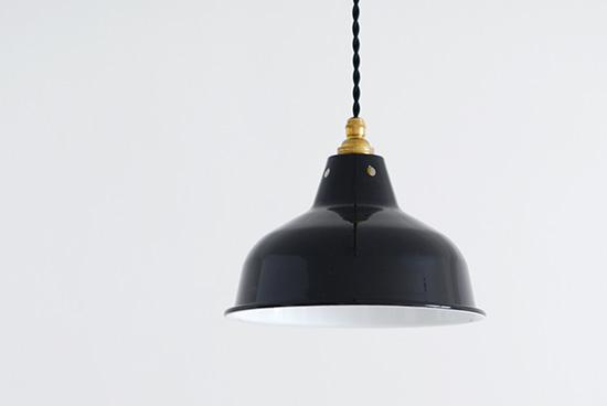 オルネ ド フォイユ/ペンダントランプ(ブラック)の商品写真
