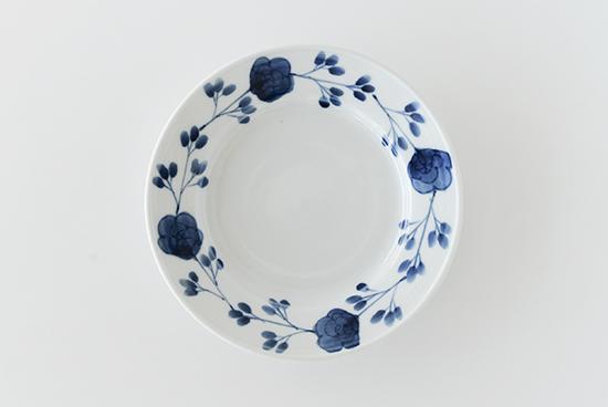 九谷焼/高祥吾/バラ繋ぎ/6.5寸皿(径:約19cm)の商品写真
