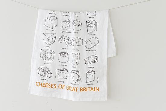【在庫限り取扱い終了】エディス&ボブ/キッチンクロス/チーズの商品写真