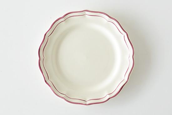 ジアン/フィレローズ/デザートプレート(径23cm)の商品写真