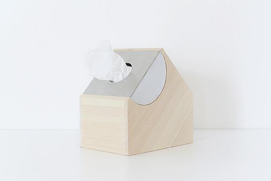 mother tool/マザーツール/UCHI/ハーフサイズティッシュケースの商品写真