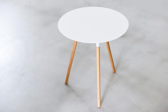 PLAIN/サイドテーブル(ホワイト)の商品写真